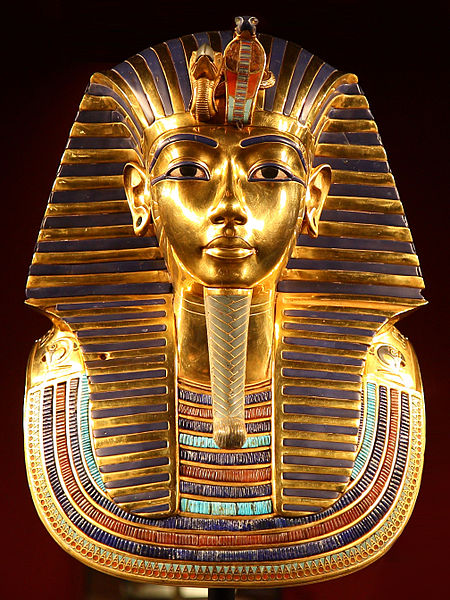 A Máscara de Tutankamón